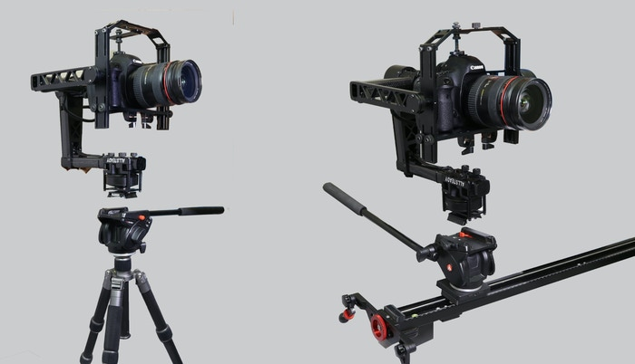 AllSteady Motion 3 Axis Gimbal Stabilzer for Canon 5D-Step