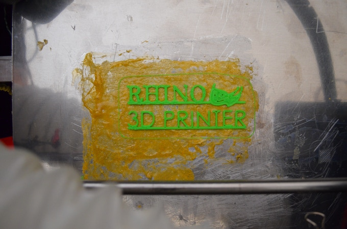 Rhino Industrial Grade 3D Printer by MONIRAD ROBOTICS INC