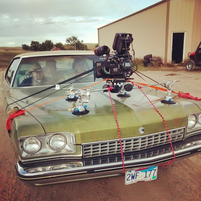 Car rig on the buick