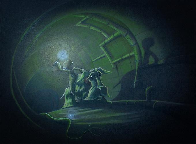 Illustration: 'The Journey Begins'