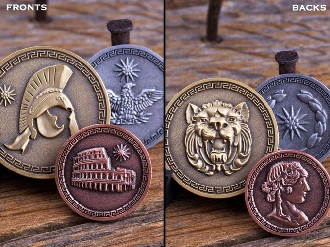 Fantasy Gaming Coins LARPing, Cosplay, Board Games, RPG 3 0