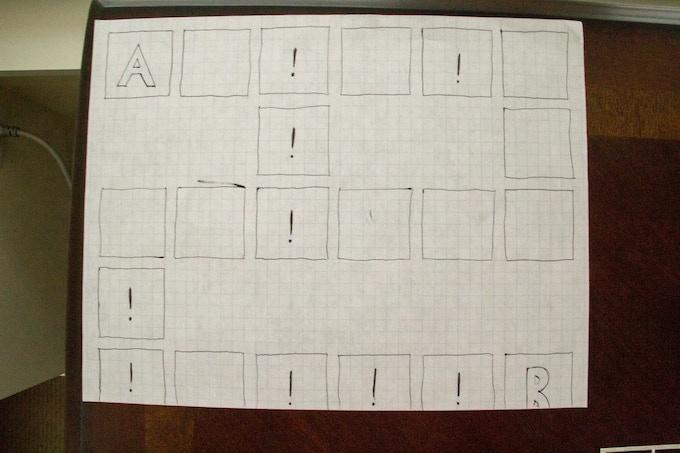 The original Mr. Game board.