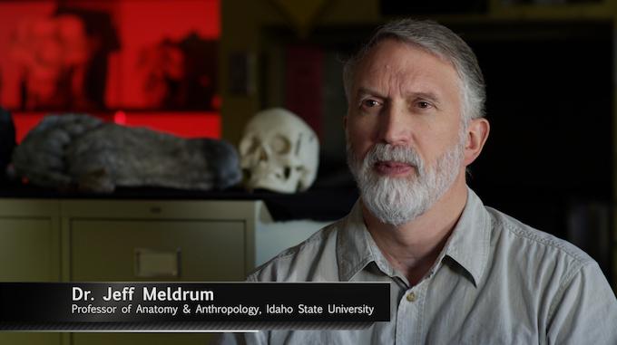Dr. Jeff Meldrum - Bigfoot Expert on Epic Mysteries: Bigfoot