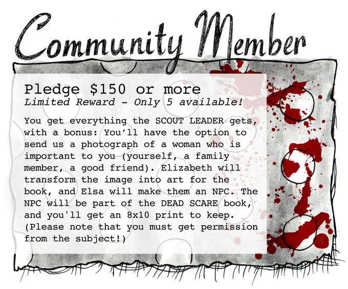 Pledge $150 or more - SOLD OUT!!