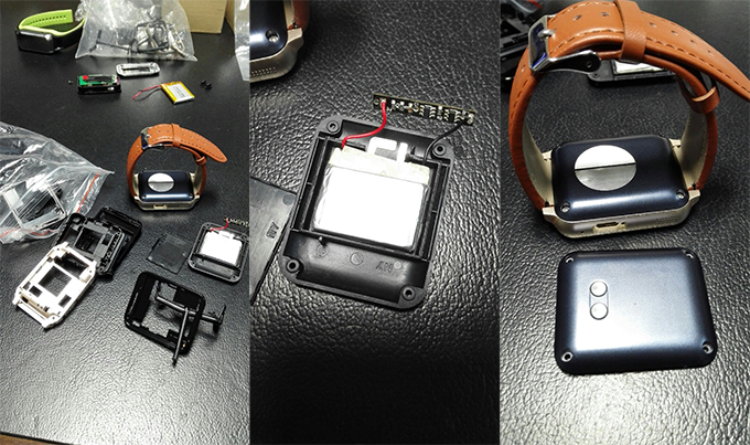 Components to Assemble the Smartwatch