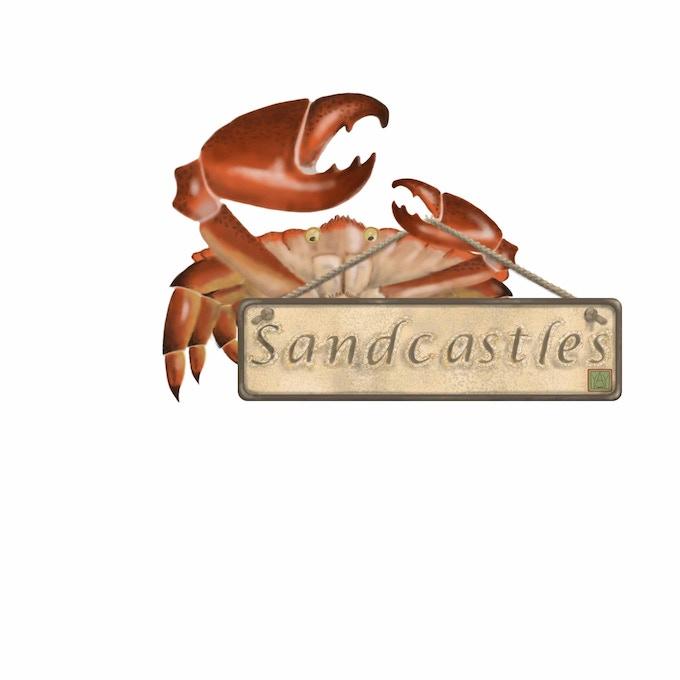A Sandcastles crab