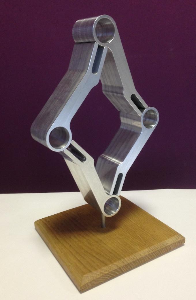 Sculptural art: Loopwheels Chevron £195+ pledge