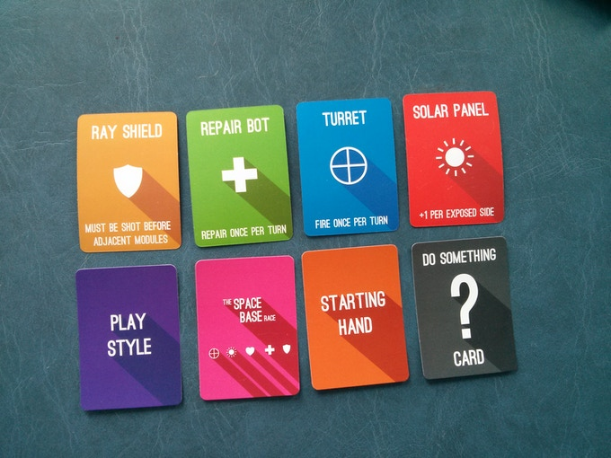 Some examples of the final cards