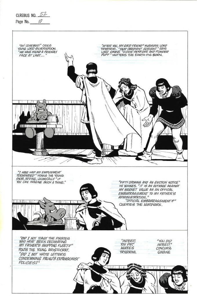 Plate #2 - CEREBUS No. 52 page 10