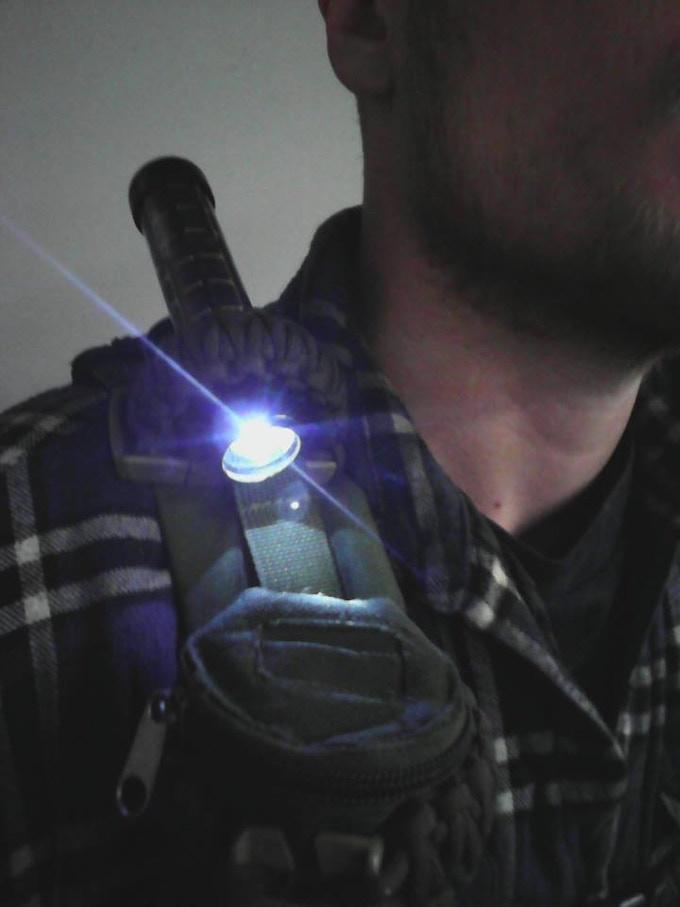 Xeus Flashlights Solar Capacitor Led Waterproof No
