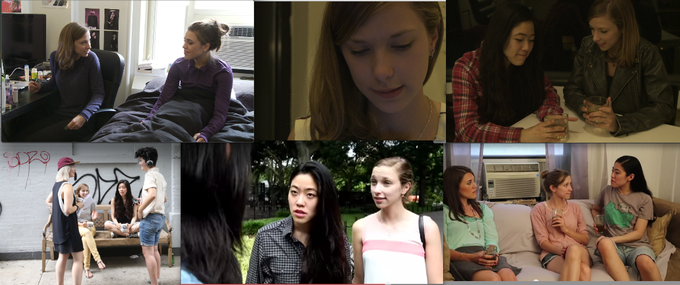 Stills throughout the progression of the Alice, Morgan, Sam story line. Starting with S1 Ep4 'Girlfriends' and ending with the most recent Season 2 cliff hanger 'Dear Alice'