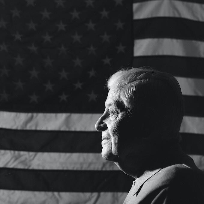 Brig. General Frank L. Gailer, Jr., USAF (Ret)- Photo by Nick Del Calzo