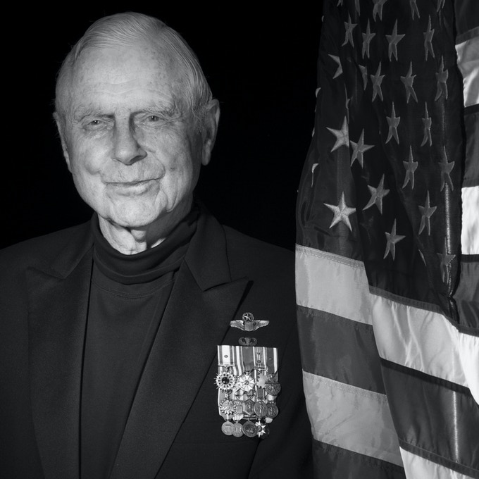 Lt. General Charles G. Cleveland, USAF (Ret) & President of the AFAA- Photo by Nick Del Calzo