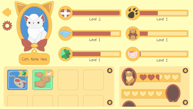 Character Screen