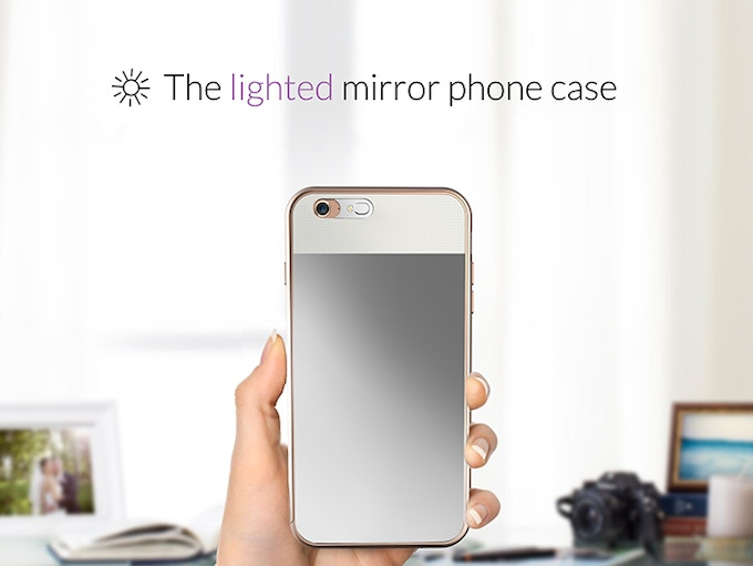 Vanity Mirror With Lights Phone Case : A unique light diffuser evenly disperses light from your phone to give you a bright clear view ...