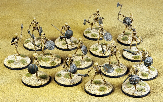 Skeletal Horde (please add £30 to your pledge level)
