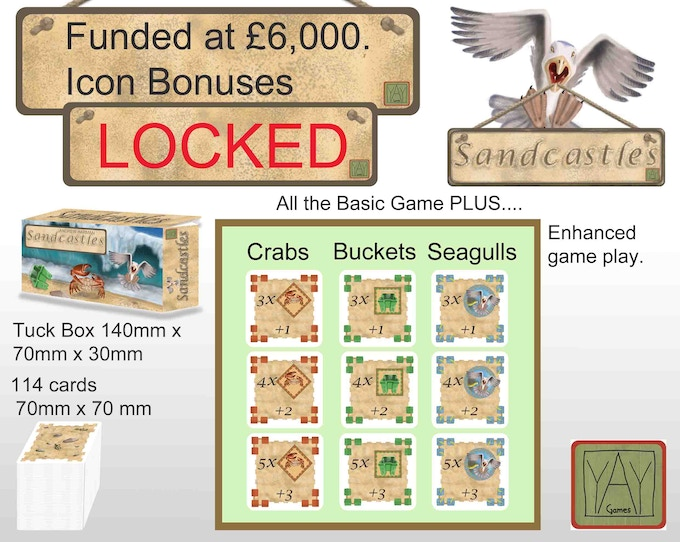 Icon bonuses add extra game play....but we want to bring you more so....