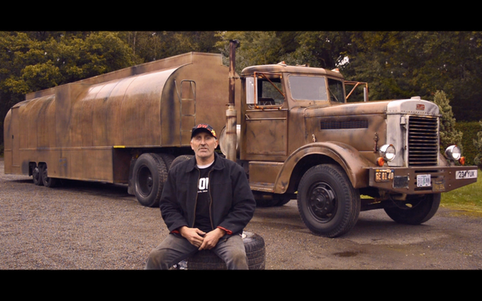The fan who got himself a DUEL truck: We'll introduce him to you soon enough...