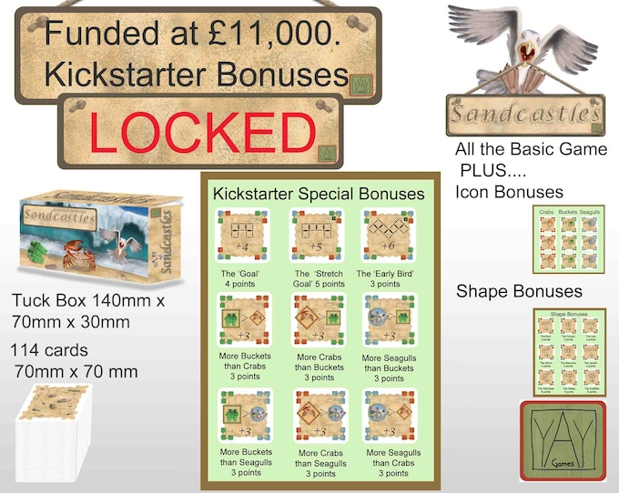 Special Kickstarter bonuses...and there's still more we want to add so...