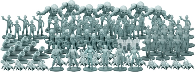 "The ""Family Photo"" -- 100 Plastic Miniatures!"