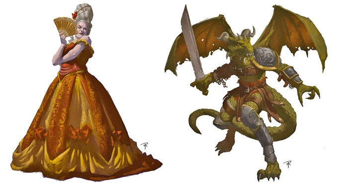 The Duchess & The Dragonman