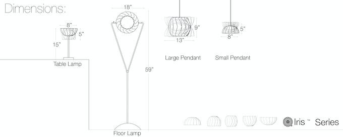 Iris Lamps by lightexture —Kickstarter