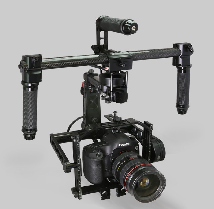 AllSteady Motion 3 Axis Gimbal Stabilzer For Canon 5D Step