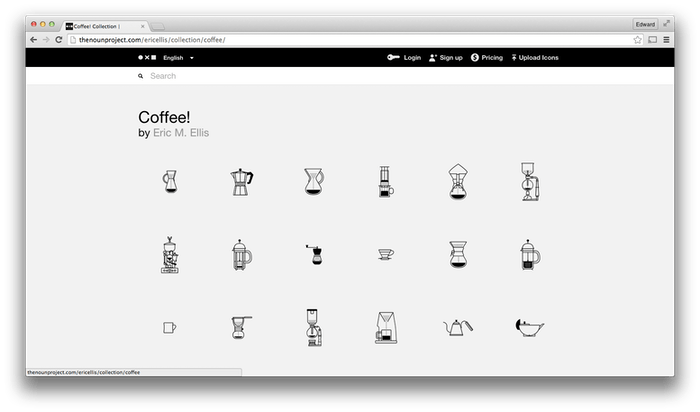 The Noun Project, a digital symbol and icon library.