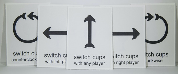 the switch cups action