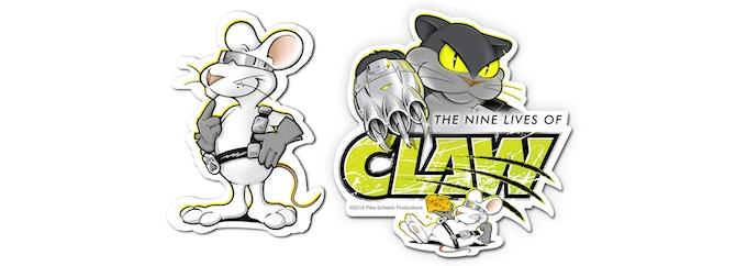 2 super-cool Stickers!