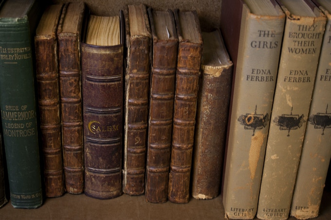 Who needs a game closet? Hide Salem on your bookshelf.