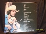 Back Cover Draggin' the Bow with Stetson Hat and Frances the Violin
