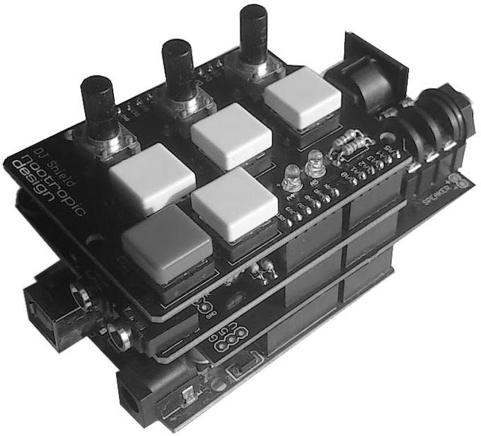 Audio Hacker synthesizer prototype