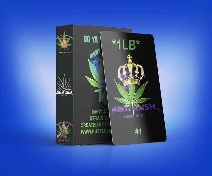 Mary Jane Strain Games Deck and King Kush Card