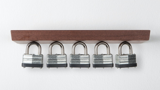 """Suspend 30+ keys per ring with the 12"""" Rackless"""