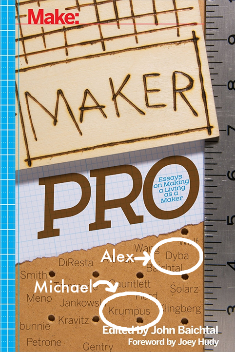 Michael Krumpus and Alex Dyba both featured in Maker Pro