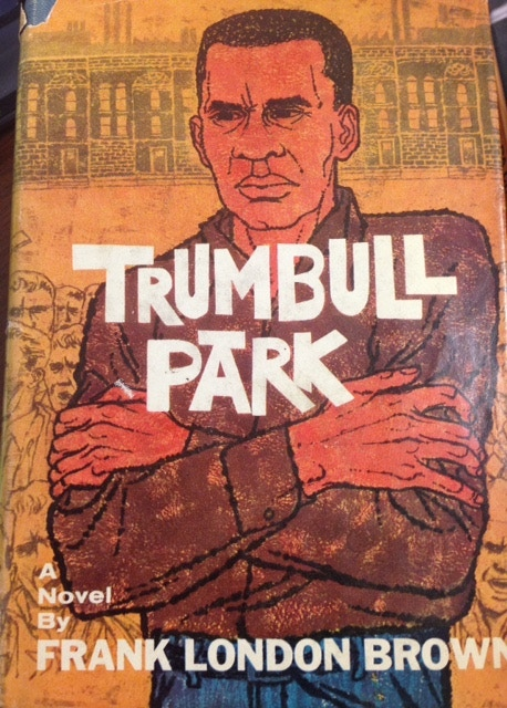 """First edition of """"Trumbul Park"""" by Frank London Brown"""