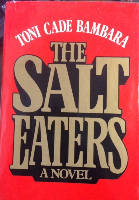 """First edition of """"The Salt Eaters"""" by Toni Cade Bambara"""