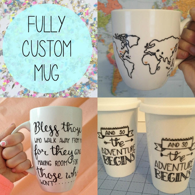 $75+ a fully custom mug