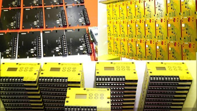 Production of the SBMS4080 for the Kickstarter backer.