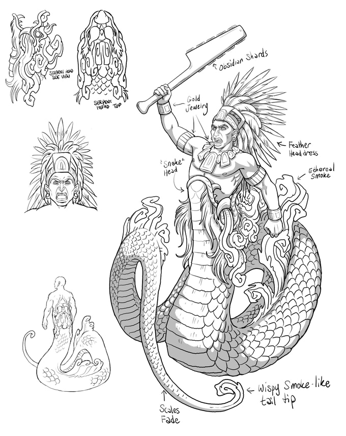 Vision Serpent - one model kit - $10