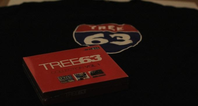 throwback t-shirt and CD box set