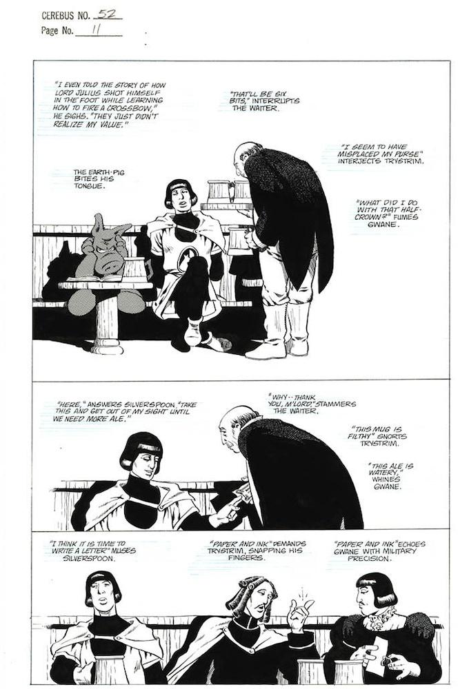 Plate #3 - CEREBUS No. 52 page 11