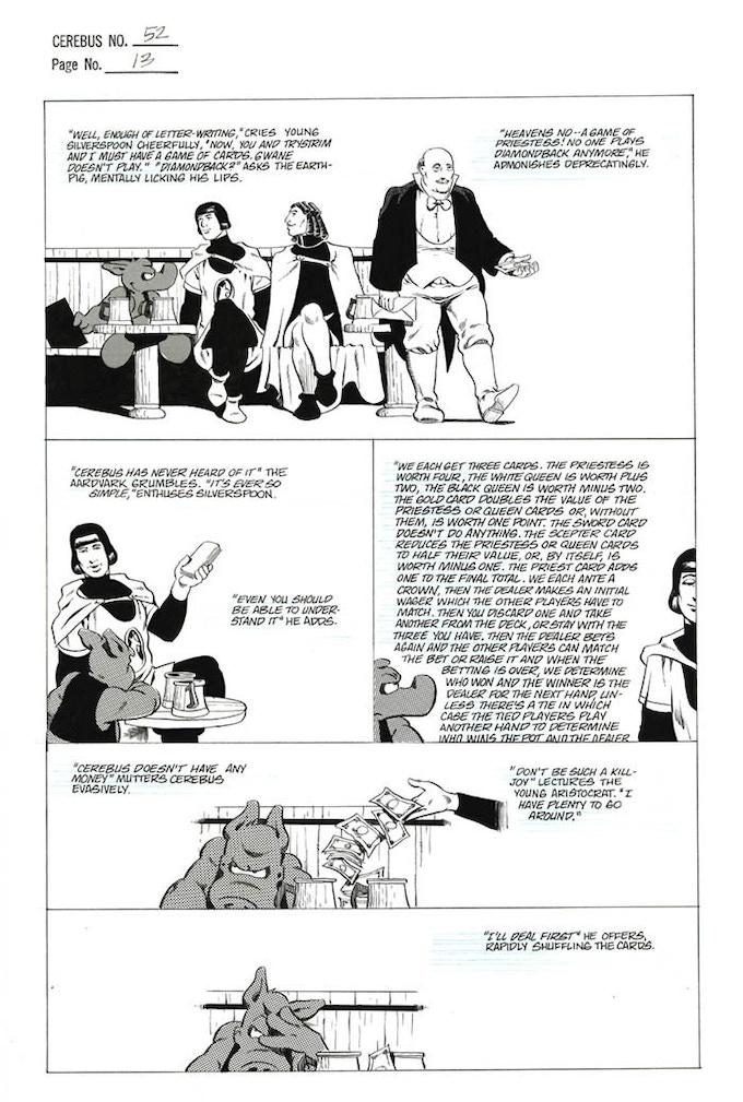 Plate #5 - CEREBUS No. 52 page 13