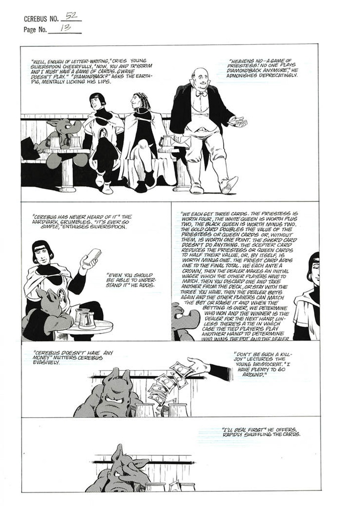 CEREBUS ARCHIVE NUMBER THREE (CAN3) by Dave Sim —Kickstarter