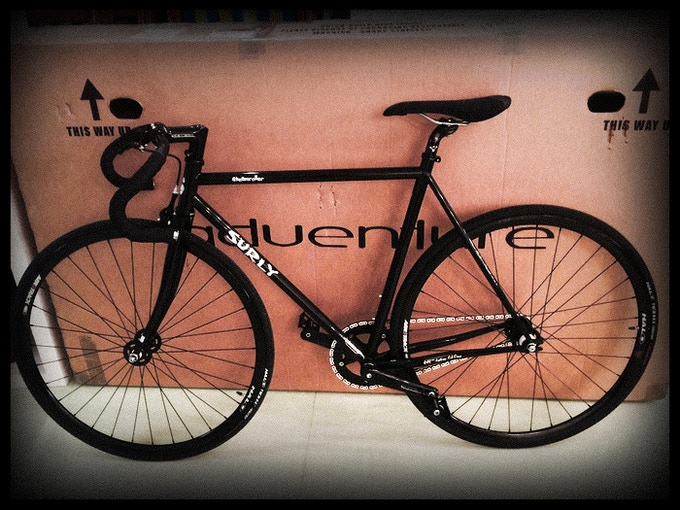 One of the bikes up for grabs!