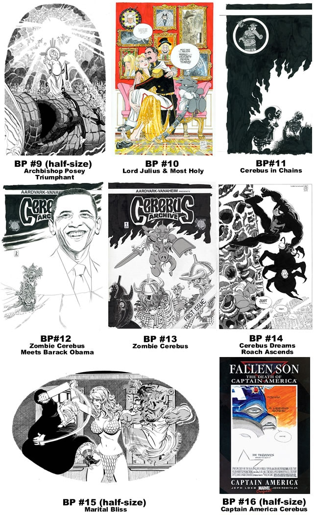 SR Bonus Prints 9-16 [click image and scroll to bottom of page for larger views - from CEREBUS ARCHIVE NUMBER TWO (CANT)]