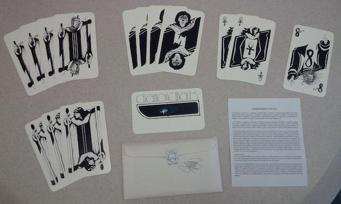 DIAMONDBACK CARD DECK - Limit of 2 per portfolio; Pledge $9 each deck