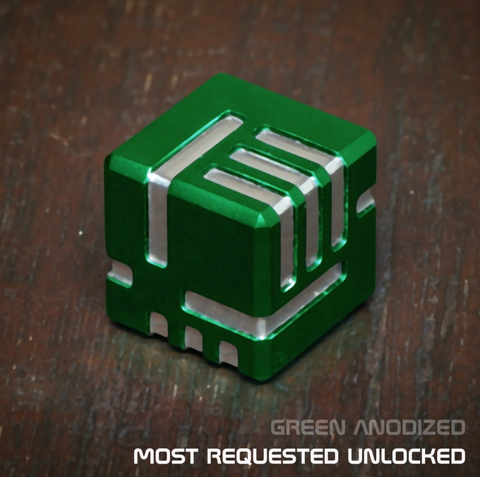AKO DICE - Most Requested Unlocked, Green Anodized!