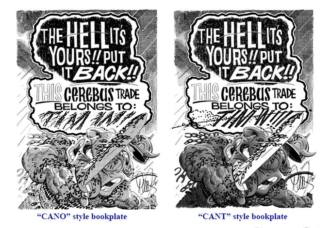 """SIGNED AND PERSONALISED Version - """"CANO"""" (Sean) style vs. """"CANT"""" (George) style"""